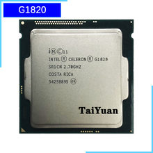 Intel celeron g1820 processador de cpu de núcleo duplo de 2.7 ghz 2 m 53 w lga 1150