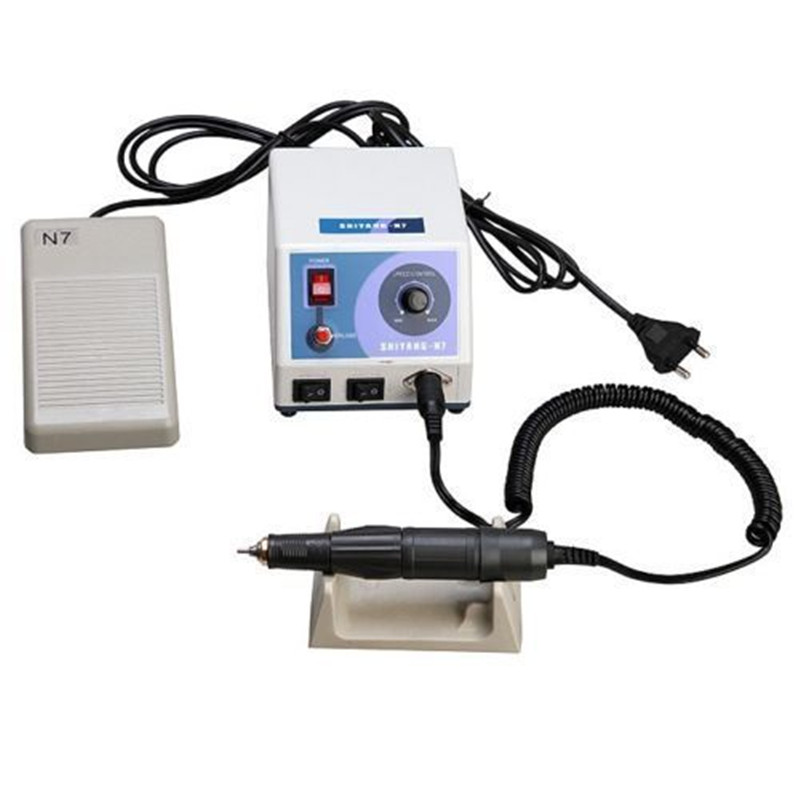 Dental Lab Marathon Micromotor Electric Polishing Motor N7 w/ 35K RPM Handpiece dental lab marathon handpiece 35k rpm electric micromotor polishing drill burs