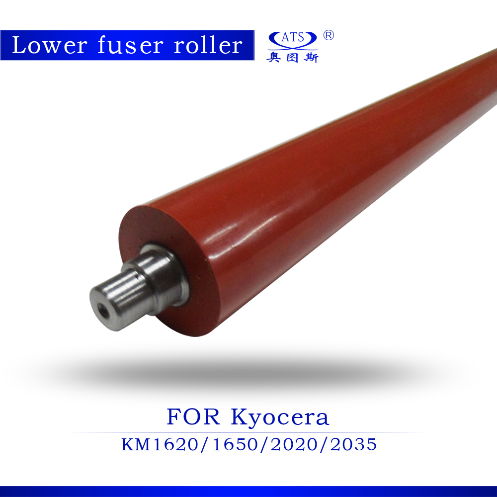 Photocopy Machine Lower Roller Fuser Roller For Kyocera KM1620 1650 2020 2035 Pressure Roller copier parts 1620 1650 2020 2035 copier parts for kyocera fs 9120 9520 9120dn 9520dn lower fuser pressure roller for kyocera 302fg93151 2fg93151 2fg93150 roller