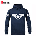Male Anime Super Hero Captain America Hoodies Mens Fleece Pullover Hip Hop Sweatshirt Men Casual Tracksuit Moletom Masculino