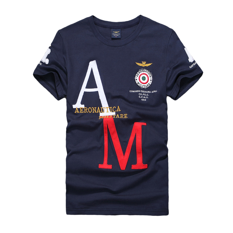 high quality brand design aeronautica militare cotton men