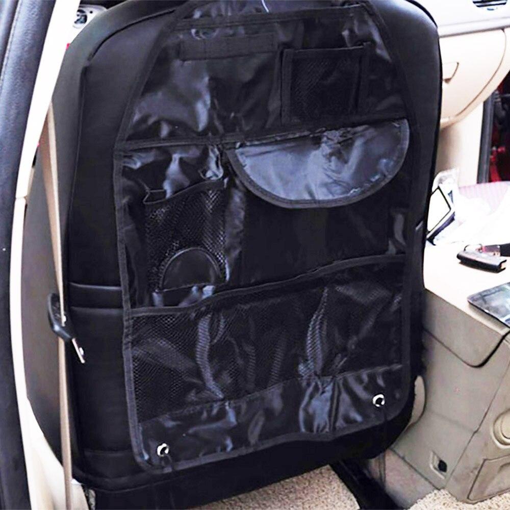 2017 1PCS Car Seat Bag Storage Organizer Bag Multi Pocket Arrangement Bag Back Seat Chair Car