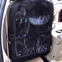 2017 1 шт. автокресло мешок хранения Организатор сумка мульти карман Организация мешок заднем сиденье стула стайлинга автомобилей обивка организатор