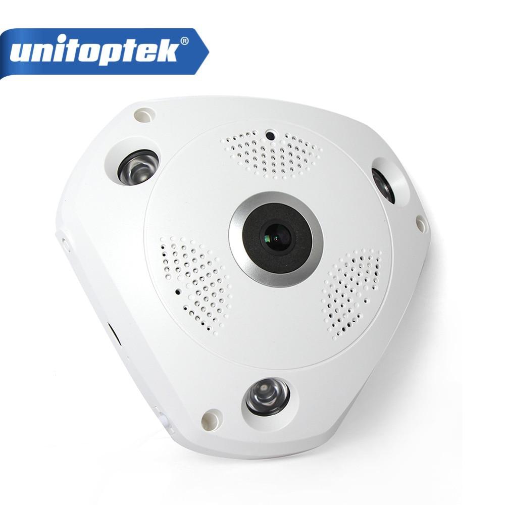 3D VR WIFI caméra IP Panorama Fisheye objectif 360 degrés vue panoramique caméra de vidéosurveillance sécurité sans fil Smart Wi-Fi Cam
