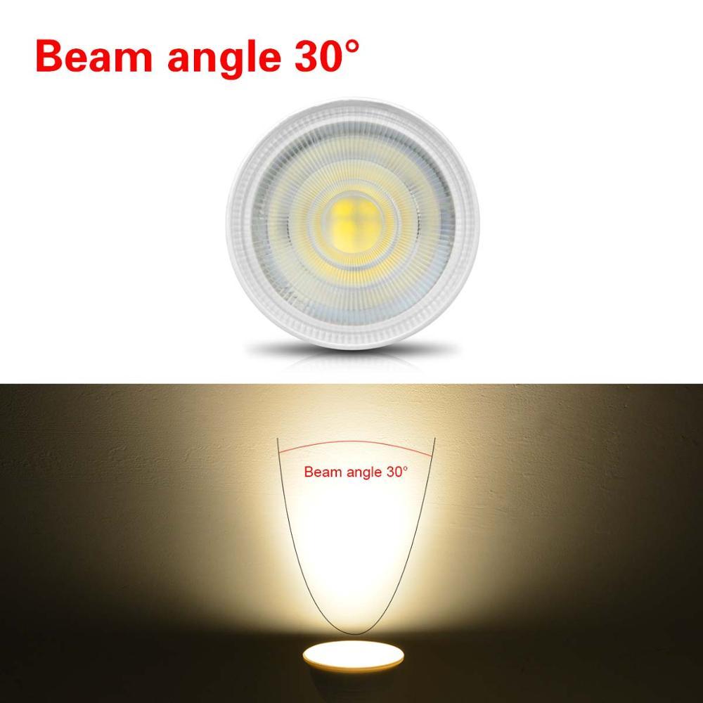 MR16 LED Bulb 7W 2835 LED Spotlight Ceiling MR16 220V Non-Dimmable LED Spot light lamp Fireproof For Indoor Downlight lighting