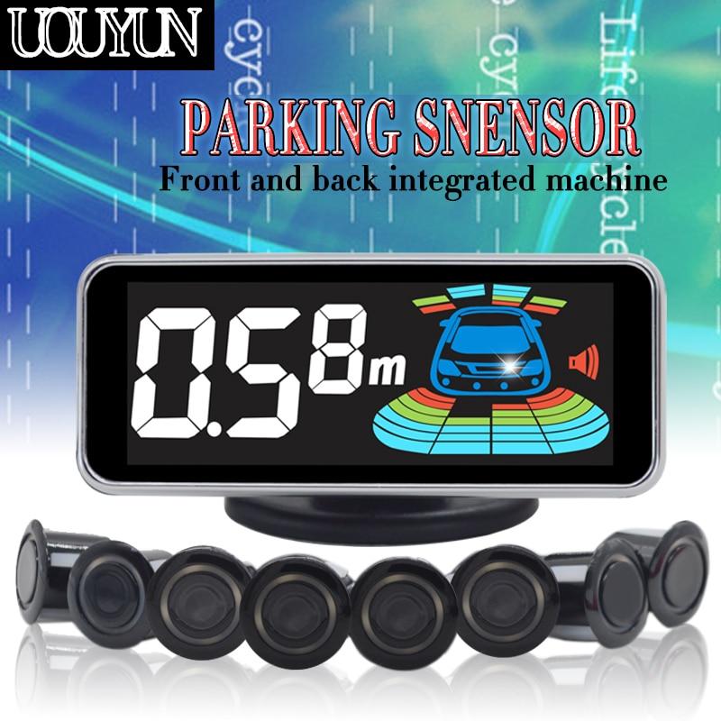 8 ny606 car parking car electronic sensor / sensor LCD display all the car parking assist radar inversion
