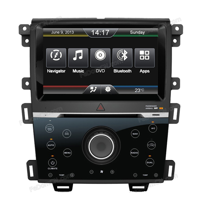 Car Radio Multimedia Player Accessories For New Ford Edge With Car Mp Player Bluetooth System And Cd Player In Car Multimedia Player From Automobiles