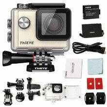 "ThiEYE 4K i60 Action Camera Gold WIFI HD sport cam 12MP 1.5""Screen 40m Waterproof Sports Camera Helmet Cam Car Dvr APP"