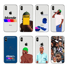Frank Ocean Endless Blonde Coque mobile phone accessories transparent TPU Cover Shell For Apple iPhone XS MAX XR X 8 Plus 7 6 5(China)