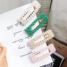 1Pcs Bling Crystal Hair Clip Elegant Fashion Chic Hairpins Rhinestone Barrette Wedding Styling Tool Hot Sale