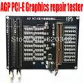 PC AGP PCI-E X16 Dual-use Socket tester Display Graphics Video Card Checker Tester Graphics card diagnostic tool