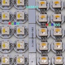 100pcs SK6812 LED Board Heatsink RGBW/RGBWW LED chips (10mm*3mm) SK6812 IC Built-in 5050 SMD RGB DC5V sk6812 ring ws2812b ring full color rgbw small circle 5v built in point control circular ring lamp board