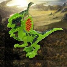 Dinosaurs Jurassic World Dinosaurs Figures Jurassic Building Tyrannosaurus Assemble Blocks Classic with Legoe Kids Toy