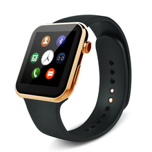 2016 neue herzfrequenz A9 Smartwatch Bluetooth Smart uhr für Apple iPhone IOS Android Telefon mit Leder/Nylon armband