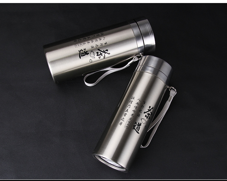 1PC Portable Vacuum Flasks Stainless Steel Thermal Bottle For Tea Thermocup Termos Insulated Cup Thermo Mug Thermos KD 1480