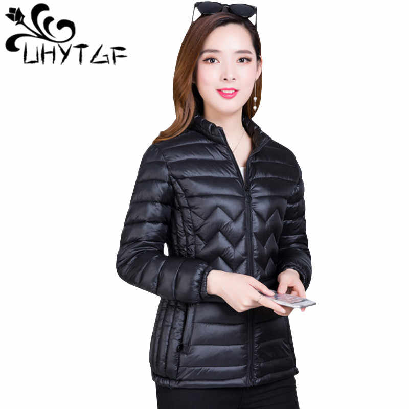 81dd6d6715 Detail Feedback Questions about UHYTGF Thin Cotton Jacket Short Tops ...