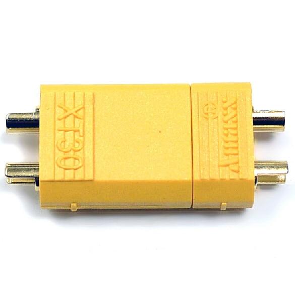 100 шт./лот Amass XT30U 2 мм Противоскользящий разъем мужской+ женский 2 мм золотой разъем/разъем обновления XT30(50 пар