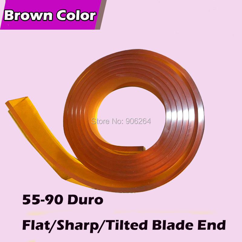 Imported Screen Squeegee / Silk Screen Glue Tape / Silk Screen Scraper / Flat Wiper / Sharp Shave / High Quality Squeegee Blade fast shipping 50mm 9mm 400mm screen printing flat squeegee rubber blade 65a durometer