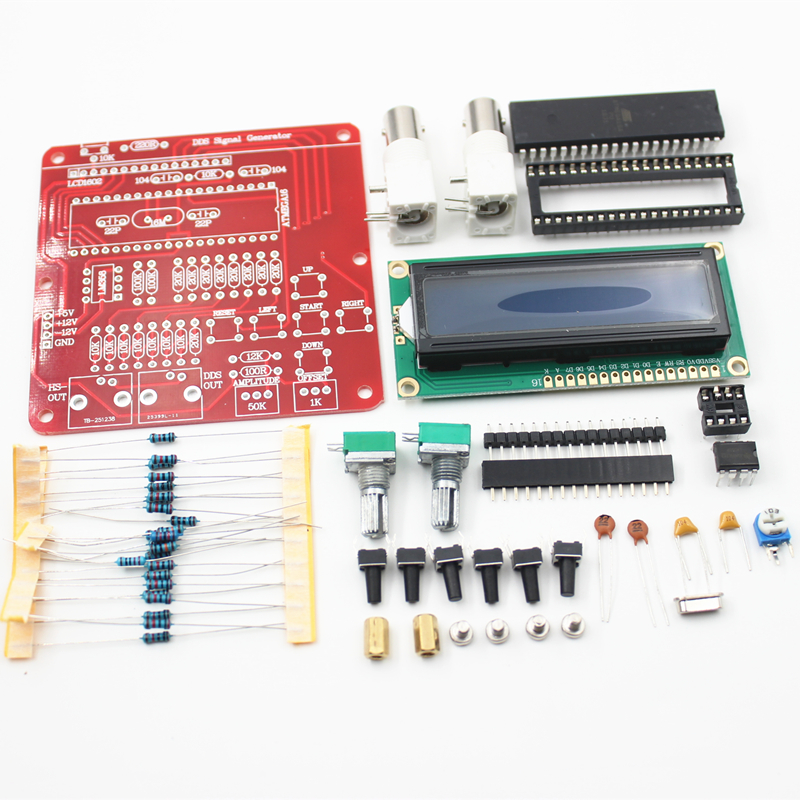 DIY ערכות AVR פונקצית DDS V2 0 מחולל אותות מודול סינוס/משולש/מרובע