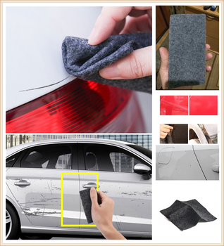 Auto parts light paint scratches remover wear surface repair rag for BMW series E38 E65 E66 F01 F02 4 F32 F33 F36 F82 M4 image