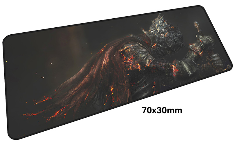 dark souls mousepad gamer 700x300X3MM gaming mouse pad large Indie Pop notebook pc accessories laptop padmouse ergonomic mat