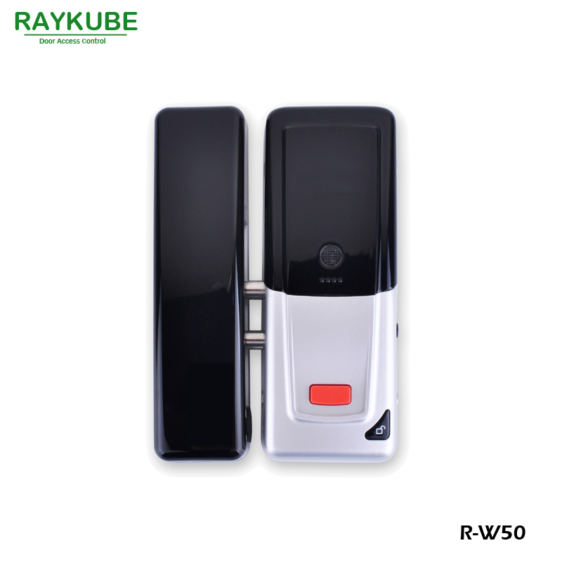 Image 2 - RAYKUBE Wireless Door Access Control System Electronic Intelligent Door Lock With RFID Keypad Remote Control Opening R W50-in Access Control Kits from Security & Protection