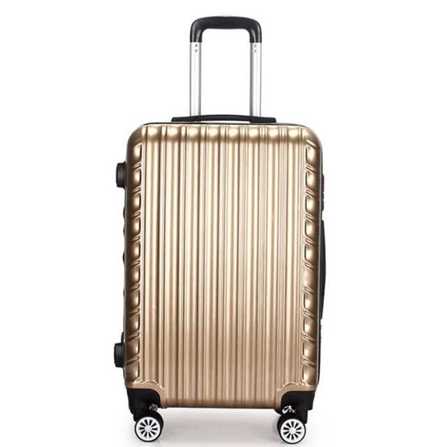 20 24 Inch luggage Bags TSA lock hook up PC+ABS  universal wheel rolling Carry-Ons Travel Case suitcase Bag Trolley password box