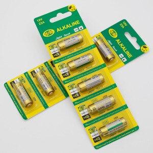 Image 5 - 5Pcs 23A12V23A batterie super alkaline tür fernbedienung versenkbare tür rolltor fernbedienung 12V23A batterie