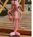 50cm/70cm lovely pink panther stuffed plush toy, amzing gift for girlfriend toy doll, leopard plush toy
