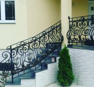 Rot Iron Railing Outdoor Wrought Iron Stair Railing Window | Outdoor Iron Stair Railing | Porch | Iron Pipe | Commercial | Galvanized Iron | Redwood