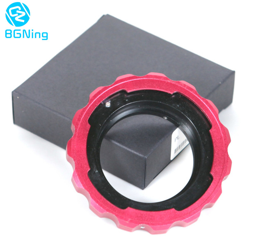 Universal PL Movie Lens Transfer to EF Adapter PL to EF Adapter Ring for General BMCC BMPC Canon Cameras EF Lens Adapter Ring