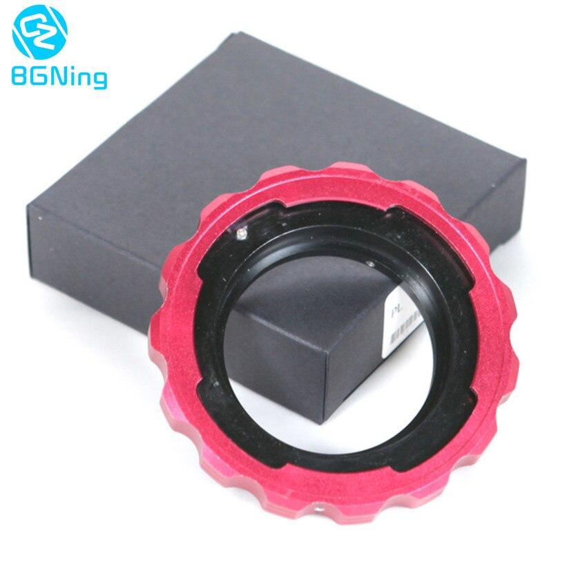 Universal PL Objektiv Film Transfer zu EF Adapter PL zu EF Adapter Ring für Allgemeine BMCC BMPC Canon Kameras EF objektiv Adapter Ring