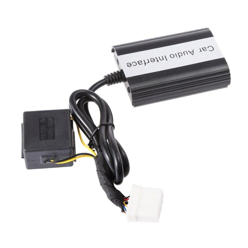 Kit mains libres Bluetooth pour voiture Interface adaptateur MP3 AUX pour Mazda 3 5 6 RX8 SPD - 4