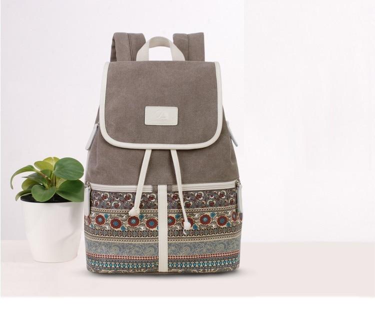 HTB1ThhuhwoQMeJjy0Foq6AShVXaD Canvasartisan Top Quality Canvas Women Backpack Casual College Bookbag Female Retro Stylish Daily Travel Laptop Backpacks Bag