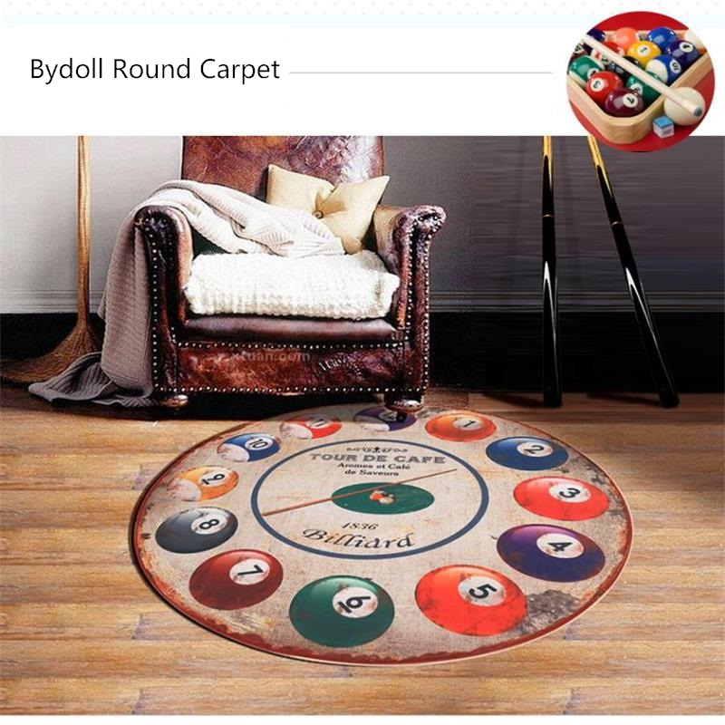 wohnung einrichtungen hauch orient, 160cm diameter round billiards doormat rugs and carpets for living, Design ideen