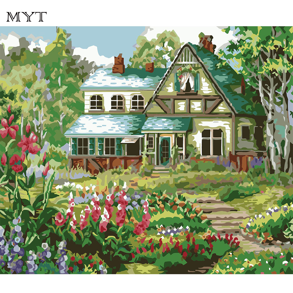 Aliexpress.com : Buy Diy coloring picture by numbers painting ...