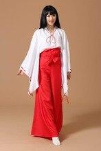 Traje para la Fiesta de Halloween Cosplay Inuyasha Kikyo Ropa Mujeres Ropa de La Muchacha Clothes18