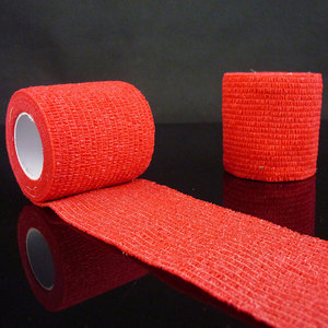 Newly New Self Adhesive Ankle Finger Muscles Care Elastic Medical Bandage Gauze Tape Sports Wrist Support BN99