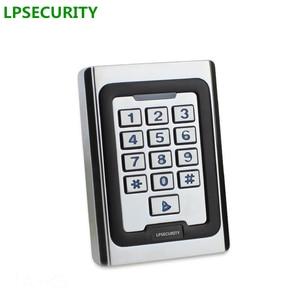Image 1 - Non waterproof door gate opener keypad reader Rfid 125khz Metal Single Door Access Controller Rfid Keypad