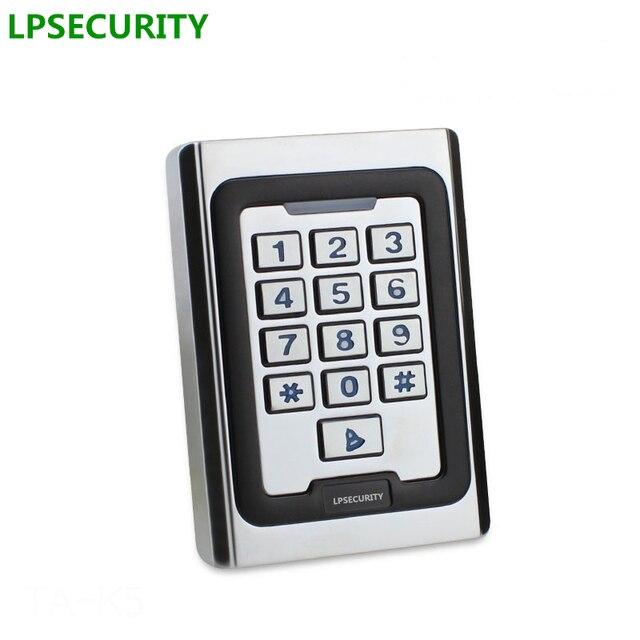 Non waterproof door gate opener keypad reader Rfid 125khz Metal Single Door Access Controller Rfid Keypad