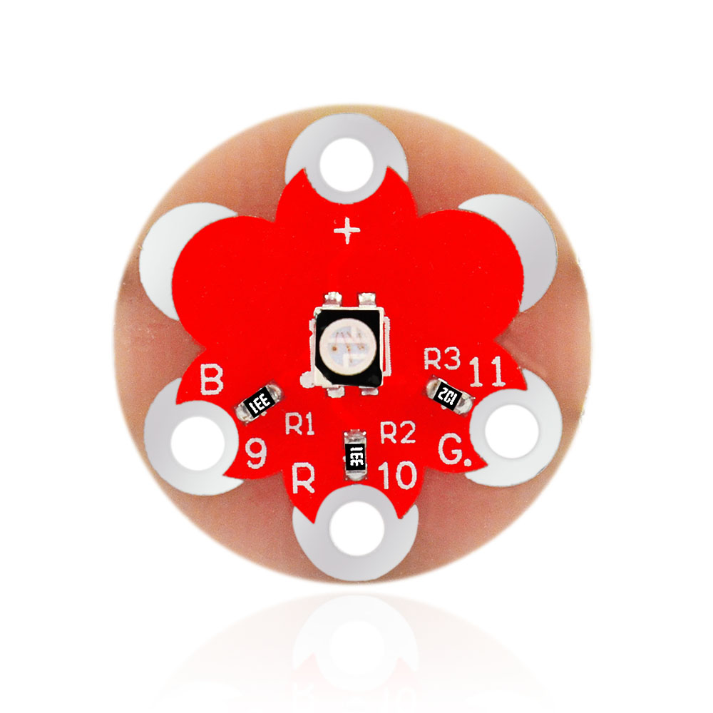 Free Shipping! Keyes Wearable 3528 RGB Module For Lilypad