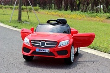 Электромобили четверо детей могут принять детская коляска игрушечный автомобиль батареи двойной привод мужчин и детей дистанционного управления автомобилем