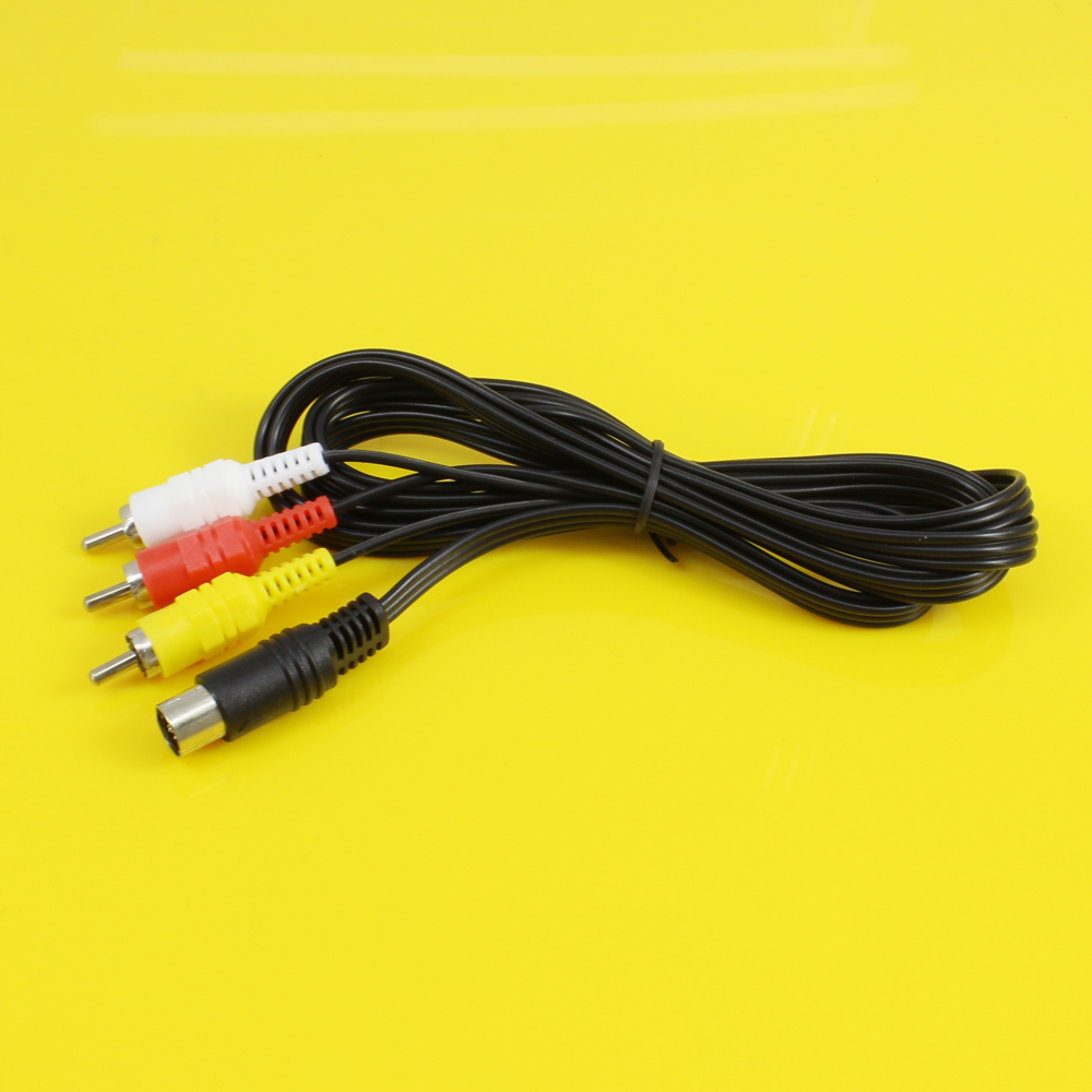 Jing Cheng Da Audio Video Av Cable A V Rca Connection Cord Adapter Jack Wiring For Sega Saturn Genesis On Alibaba Group