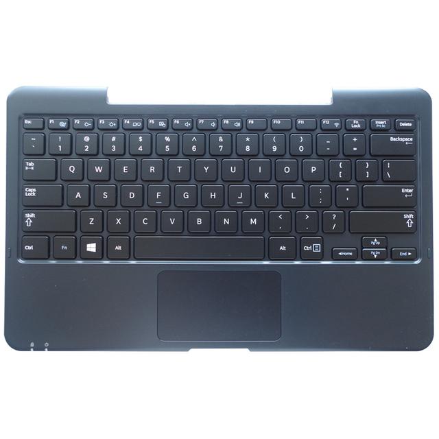 Ee. uu. teclado del ordenador portátil para samsung xe500 xe700t1c 700t1c estación del muelle clavier teclado negro + shell c