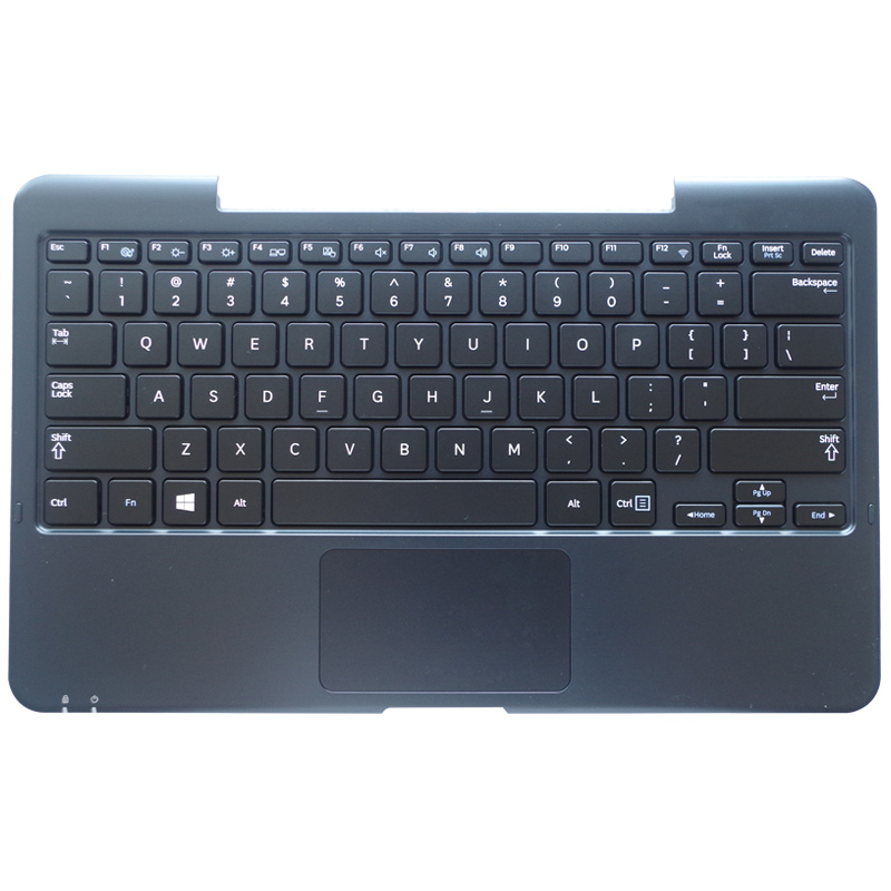 US laptop keyboard FOR samsung XE500 XE700T1C 700T1C black keyboard Dock station clavier +C shell