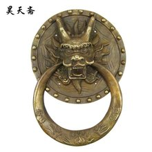 [ Хаотянь вегетарианская ] бронза медь дверь кольцо HTA-048 китайский античная медь кран обращаться с деньгами