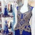 A Personalização avançada de Mãe Da Noiva Vestidos de Noite Chiffon Bordado Elegante Sereia Vestidos de Noite Vestido De Festa Longo