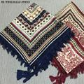 Women Square scarves Blanket Scarf 2016 Fashion Novelty Geometric Linen Cotton Scarf Shawl X 100cm*100cm Ponchos And Capes