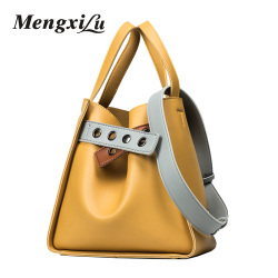 Fashion candy color bucket bag high quality women leather bags with button luxury handbag women shoulder.jpg 250x250