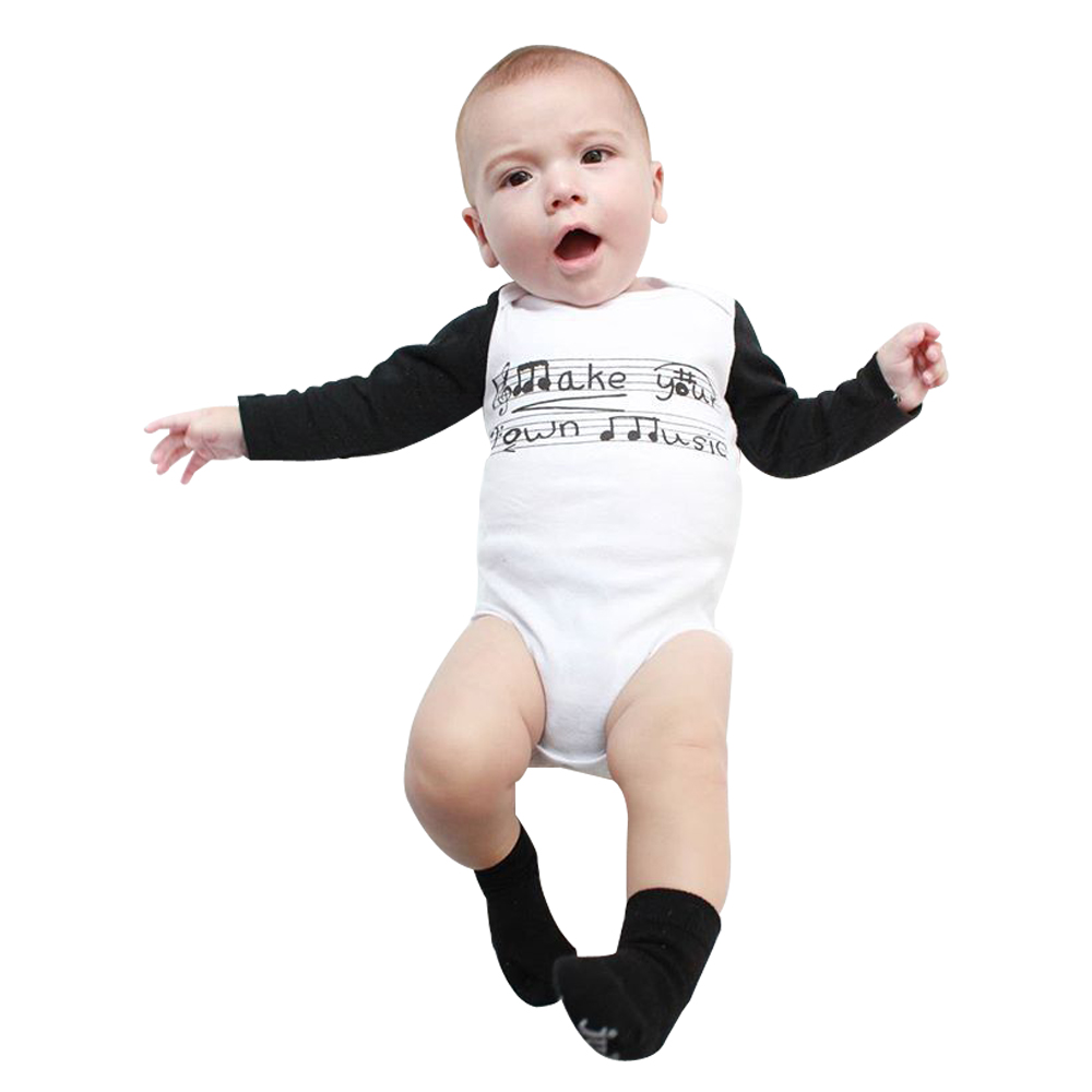 Imagine Band Dragons and Deer Baby Boys Girls Long Sleeve Baby Onesie Baby Romper